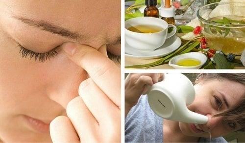 3 Tipps gegen Sinusitis