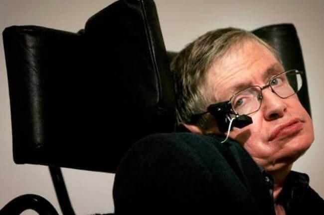 Stephen Hawking: Vergleich der schwarzen Löcher mit Depression