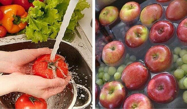 Wie lassen sich Pestizide von Obst und Gemüse entfernen?