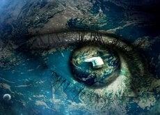 ehrlicher Blick verbindet die Welt