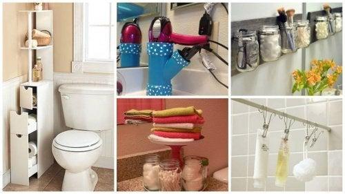 Im badezimmer  So sparst du Platz und gewinnst Stauraum im Badezimmer - Besser ...