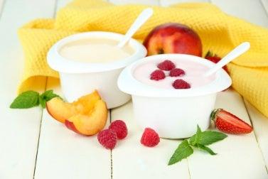 Joghurt für schönes Haar