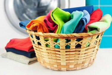 mit Weichspüler behandelte Wäsche