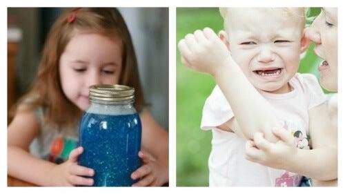 Montessori-Techniken, um Wut und Nervosität von Kindern zu kanalisieren