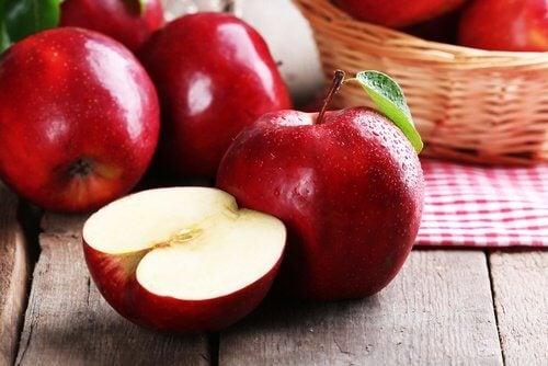 Äpfel sind für die Leber gesund