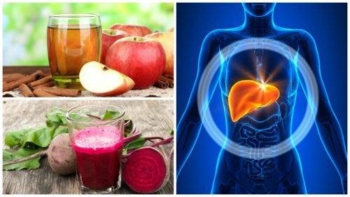 5 hausgemachte Getränke zur Leberentgiftung