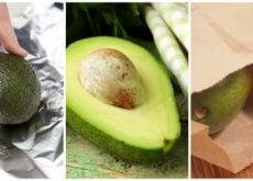 Avocado reifen