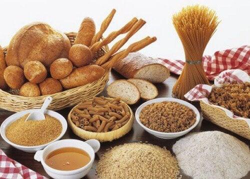 Brot und Pasta bei Diabetes
