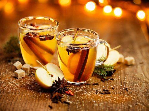 Energy-Getränk mit Gewürzen für Körper und Geist
