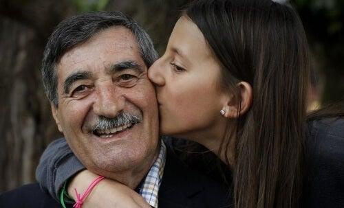 Mädchen und Vater