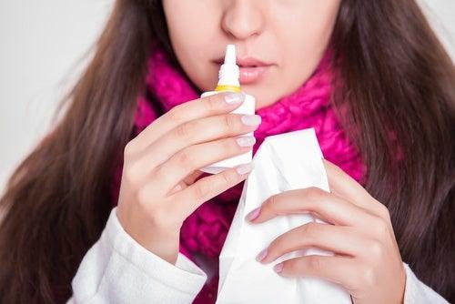 Mittel gegen eine verstopfte Nase