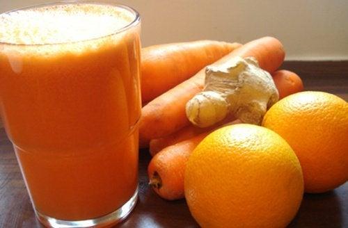 Orangen und Ingwer zur Leberreinigung