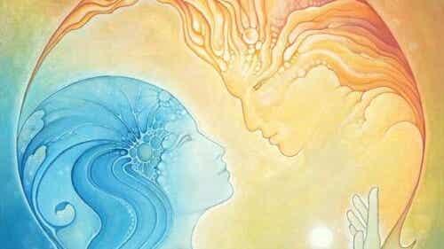 Zärtlichkeit ist die Seele der geliebten Person mit