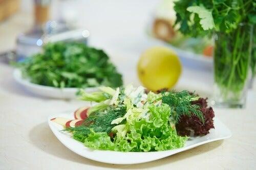 Salat nicht einfrieren
