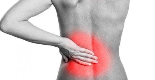 Schmerzen im unteren Rückenbereich natürlich lindern