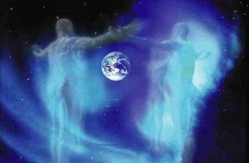 Erde und Außenstehende