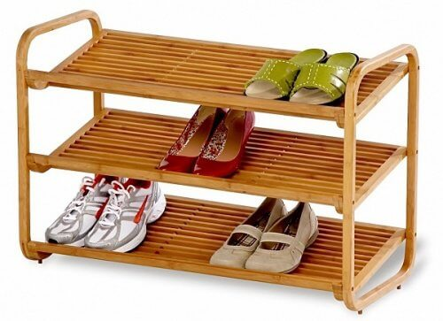 Schuhe-Regal