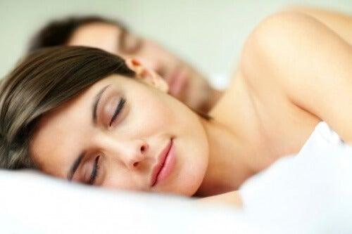 Schlafpositionen verbessern