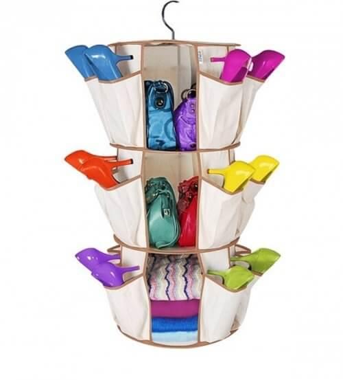 Schuhe-Stoffhalter