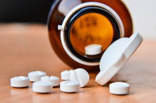 Aspirin für Gesichtsmaske