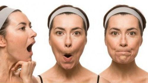 Gesichtsgymnastik: 7 Übungen gegen Schlaffheit und frühzeitige Falten