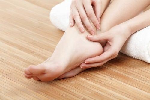 Füße und Durchblutung