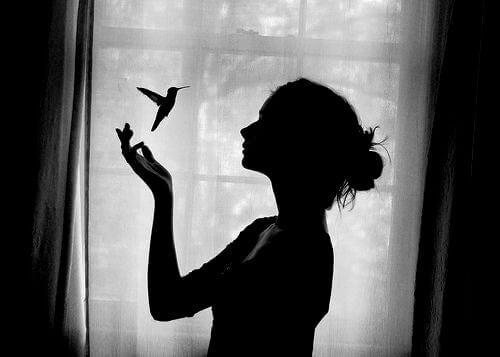 Frau-Kolibri
