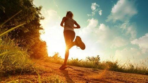 Laufen gegen negative Emotionen