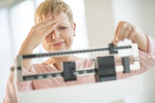 gwichtsprobleme aufgrund der schilddrüse