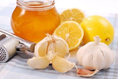 Honig mit Zitrone und Knoblauch für den Tagesbeginn und zur Stärkung des Immunsystems