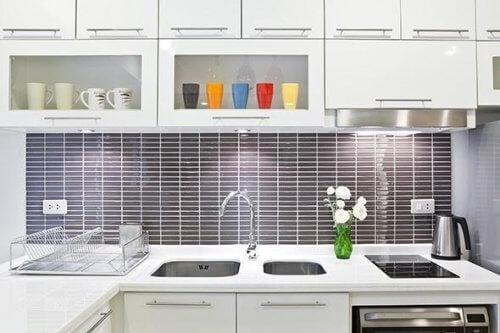 Saubere Küche ohne Chemie