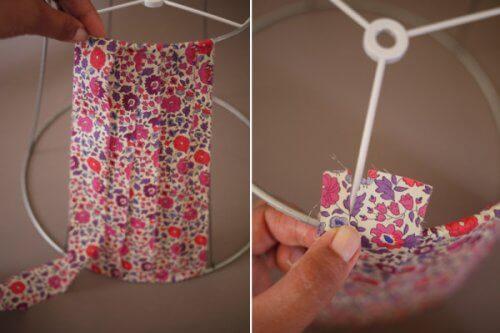 lampe-mit-textil-dekorieren-altkleider