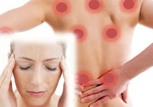 Symptome von Fibromyalgie