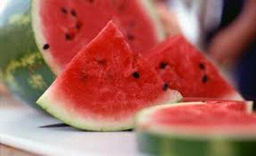 Wassermelone Gewichtsverlust
