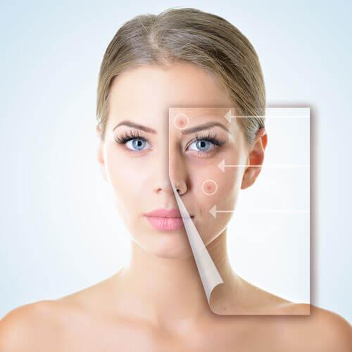 Hautbeschwerden als Anzeichen für Verdauungsstörungen