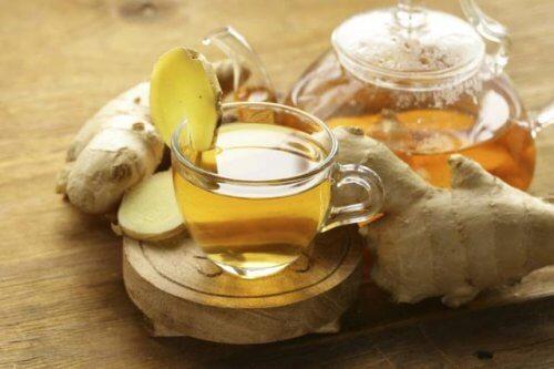 Tee mit Ingwer und Aloe Vera: ein phantastisches Heilmittel