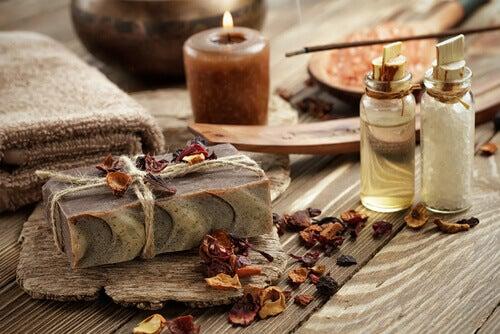 gute Ideen für zu Hause - Kerzen und duftende Seife