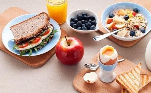 K frühstücken, um Gewicht zu verlieren