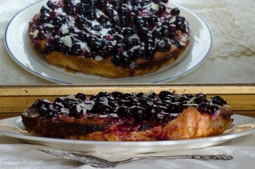 Heidelbeer-Joghurt-Torte selbstgemacht