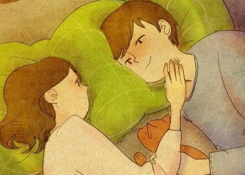 Die erste Liebe bedeutet neue Möglichkeiten