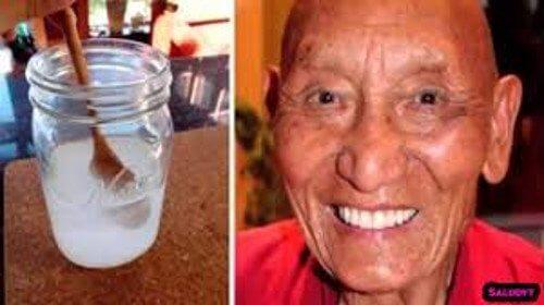 Weißt du warum tibetanische Mönche weiße, starke Zähne haben?