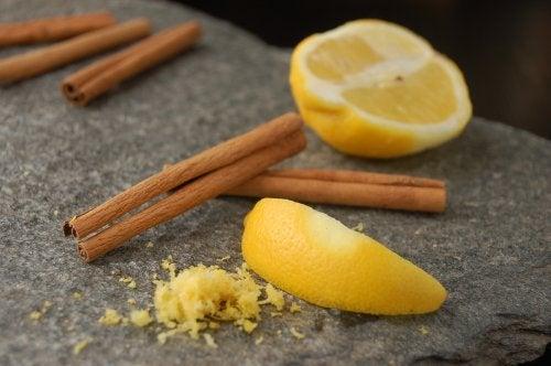 Haarpflege mit Zimt und Zitrone