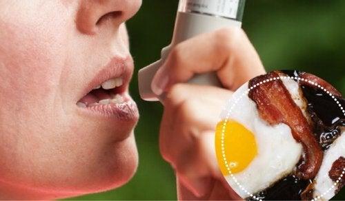 Ernährungstipps bei Asthma