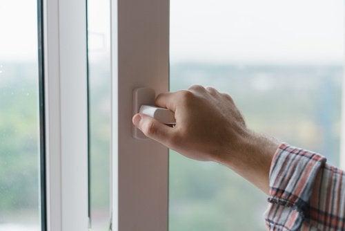 Fenster öffnen kann krank machen