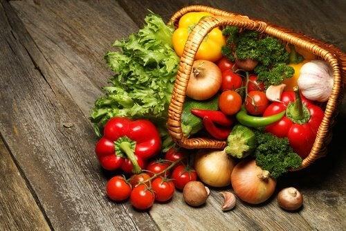 Gemüse gegen Übersäuerung