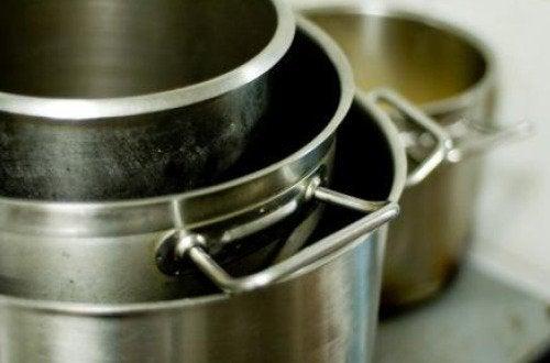 Küchentöpfe Olivenöl