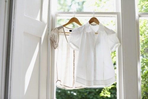 Wäsche in der Wohnung trocknen kann krank machen