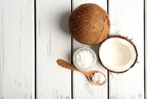 Kokosöl für Bananenbrot