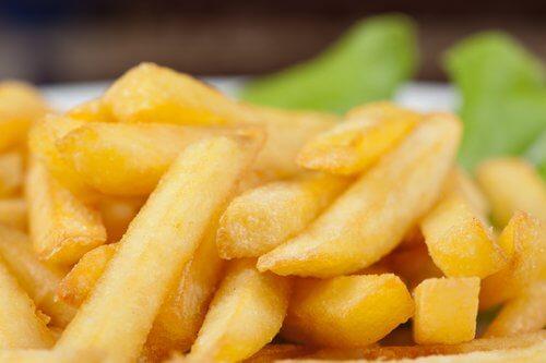 Pommes Frites Ernährungsgewohnheiten