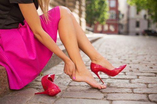 Unbequeme Schuhe können krank machen